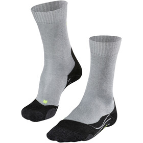 Falke TK2 Cool Calcetines de Trekking Hombre, light grey